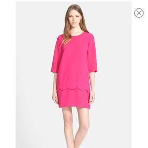 Kate Spade Demi Scallop Shift Dress Sz 0